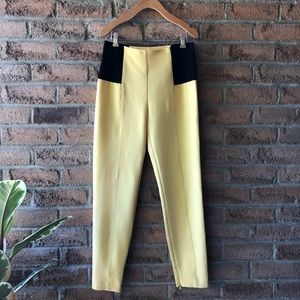 ATOS LOMBARDINI | Yellow designer tapered pant